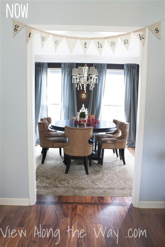 Fabulous dining room transformation plus a great house tour!
