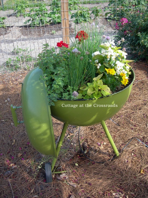 12 Unique Planters - think outside the pot!  kellyelko.com