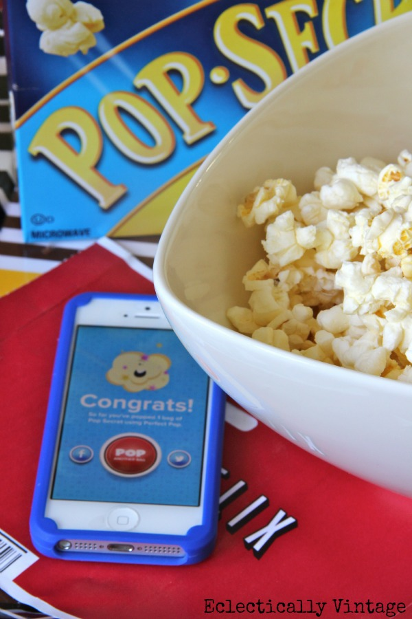 Perfect Pop app - tells you when you popcorn is ready!