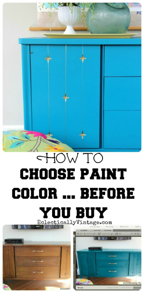 How To Chose Paint Colors Before You Buy