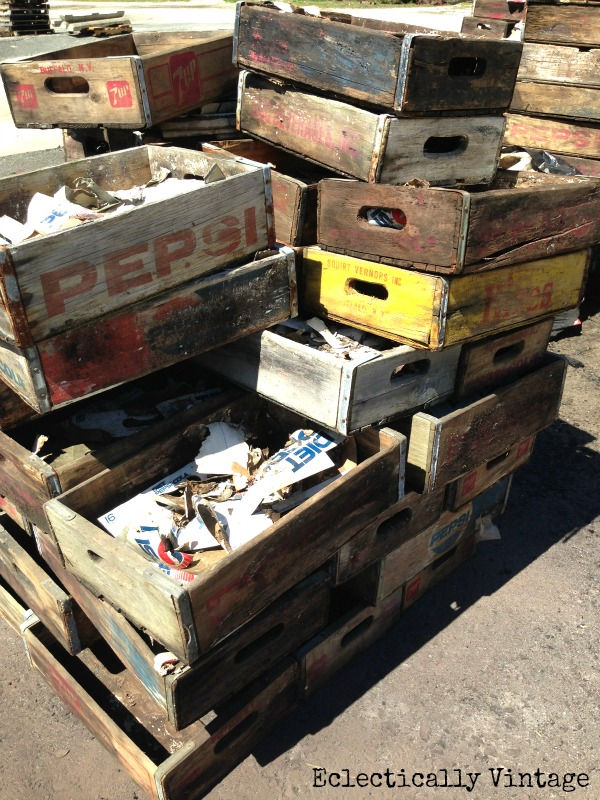 vintage soda crates for sale