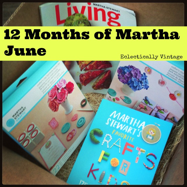 Win a Martha Stewart book - before it hits store shelves!  eclecticallyvintage.com