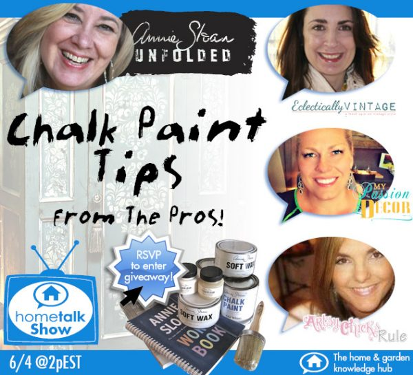 Chalk Paint Tips from the Pros - watch this informative video and learn everything you ever wanted to know! eclecticallyvintage.com
