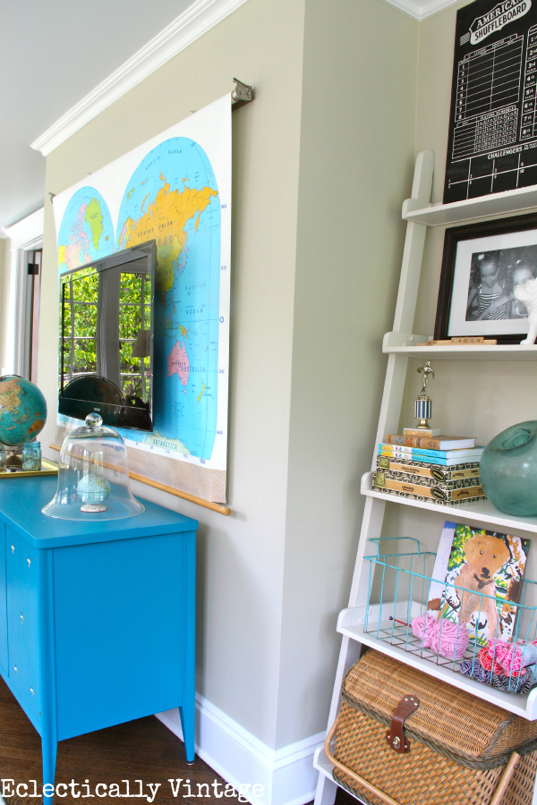 Gorgeous sunroom tour - divided into 3 zones - brilliant!  kellyelko.com