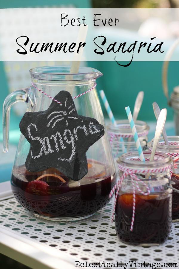 Best Ever Summer Sangria
