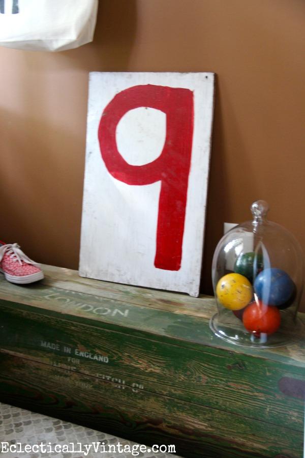 Cute entry - love the vintage croquet set box!  kellyelko.com