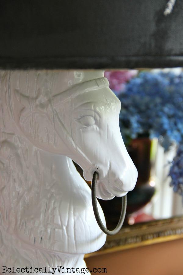 Mid Century Lamp Makeover - kellyelko.com