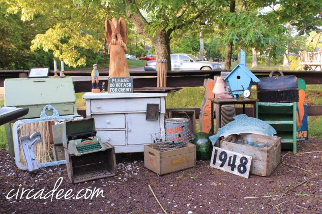 Vintage treasures - lots more and they are for sale!