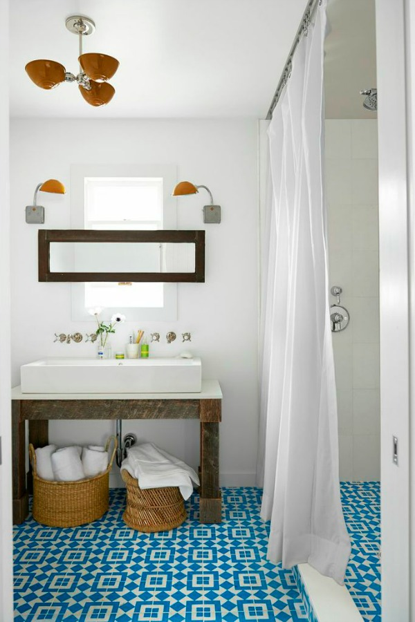 Country Living Magazine House of Year - bathroom and more designed by Emily Henderson