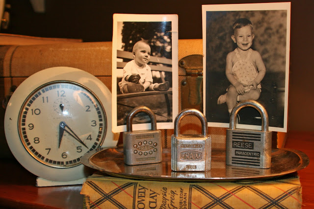 10 Creative Repurposing Ideas - including these lock photo holders!