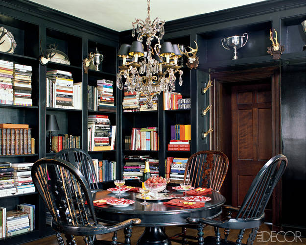 Windsor chairs - who knew they could be this chic!  kellyelko.com