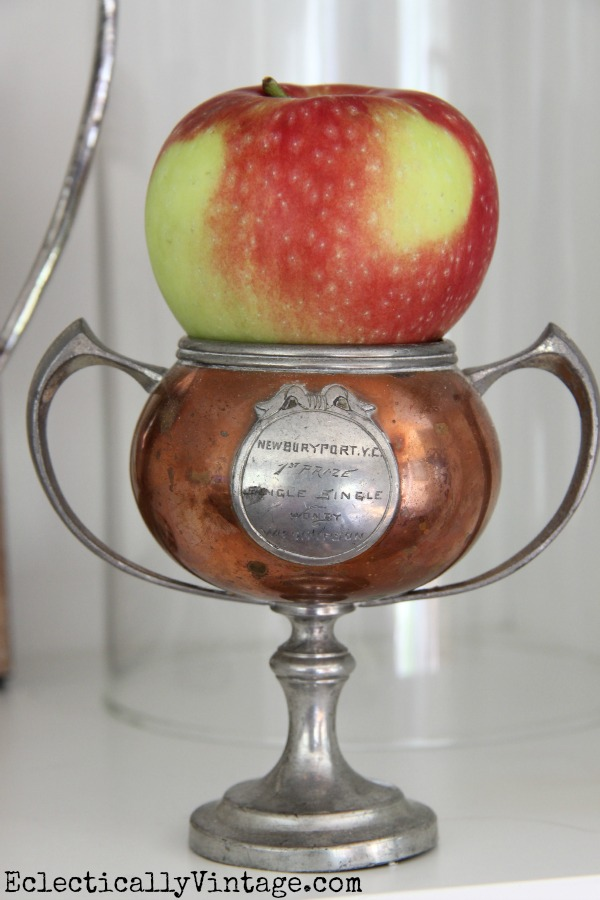 Vintage loving cup - one of a stunning collection at eclecticallyvintage.com