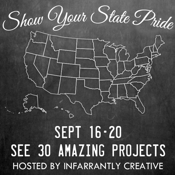 Show Your State Pride - 30 creative state projects!