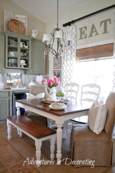 Southern Home Tour - get some great ideas from one of the unique decorating blogs