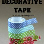 5 Uses for Decorative Tape eclecticallyvintage.com