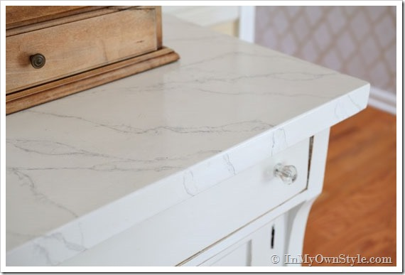 How to paient faux carrara marble