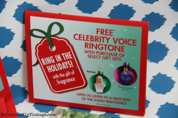#ad Wonderstruck gift set - comes with fun free celebrity ringtones  #shop #cbias #ScentSavings eclecticallyvintage.com #shop