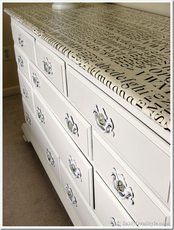 How to make over an outdated piece of furniture