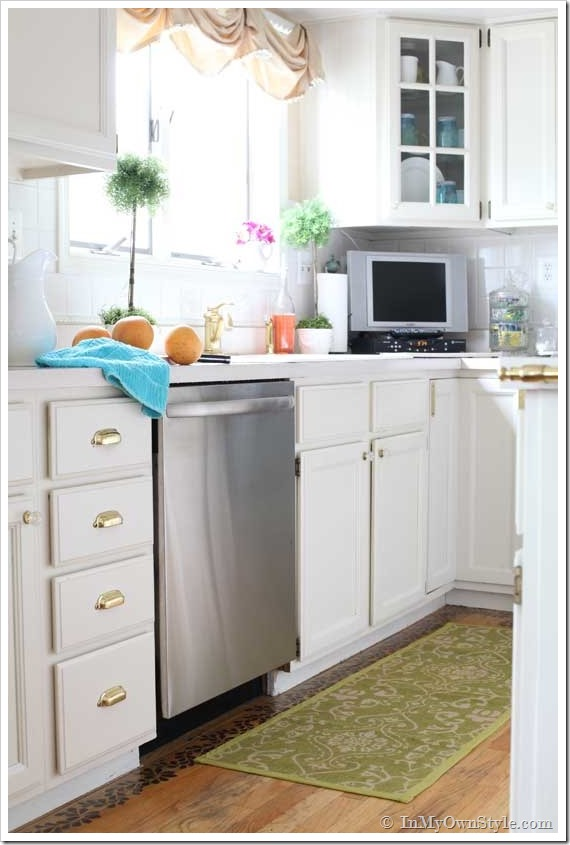 How to paint kitchen cabinets and appliances