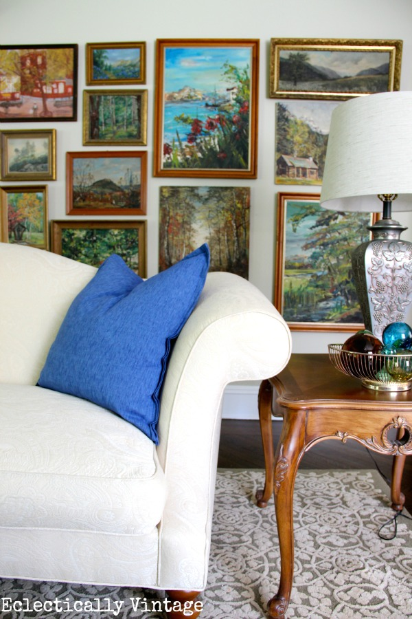 Landscape wall eclecticallyvintage.com