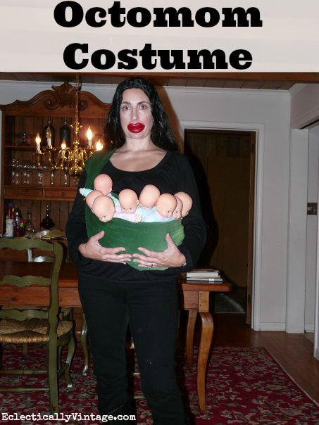 Octomom Costume eclecticallyvintage.com