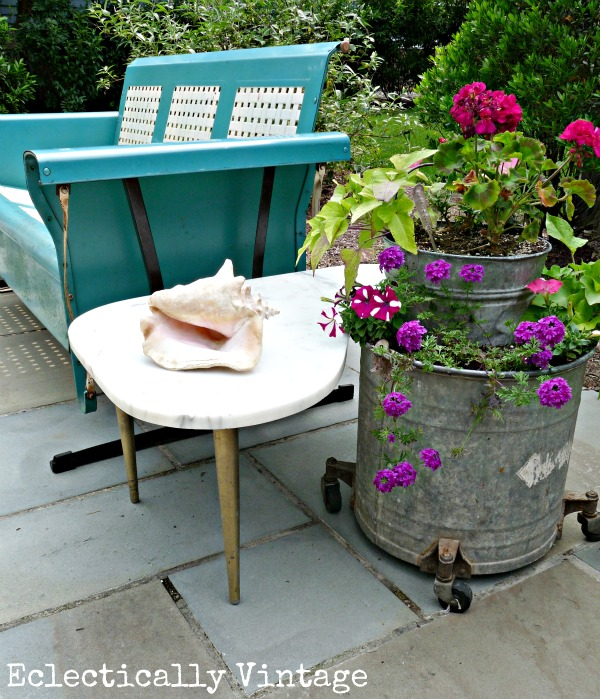 Gorgeous patio eclecticallyvintage.com