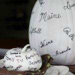Thanksgiving Thankful Pumpkins - great idea! eclecticallyvintage.com