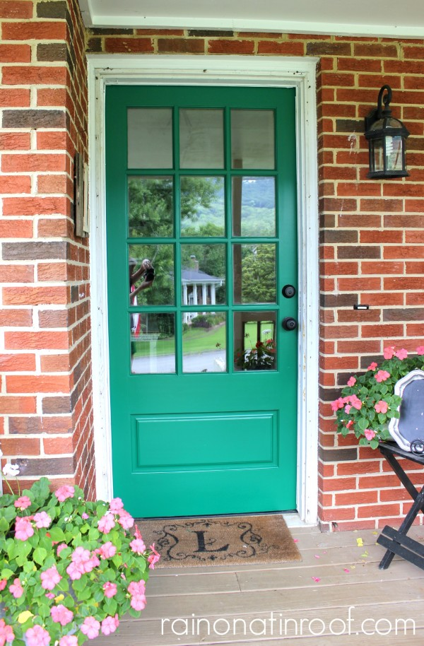 Go bold with door color - tour this home kellyelko.com