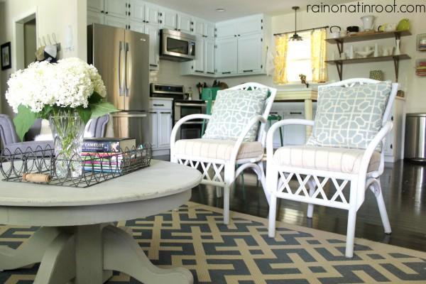 Beautiful family room - love the symmetry kellyelko.com
