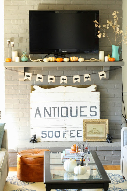 Primitive and Proper home tour - love that sign