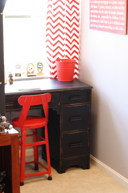 Fun color combination for a kids room