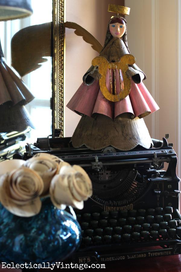 Vintage typewriter eclecticallyvintage.com