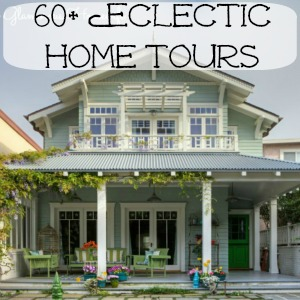 Eclectic Home Tours at kellyelko.com