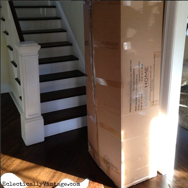 Sofa bed in a box - perfect for tight spaces