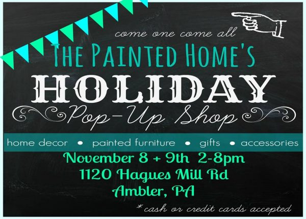 The Painted Home Pop Up Shop