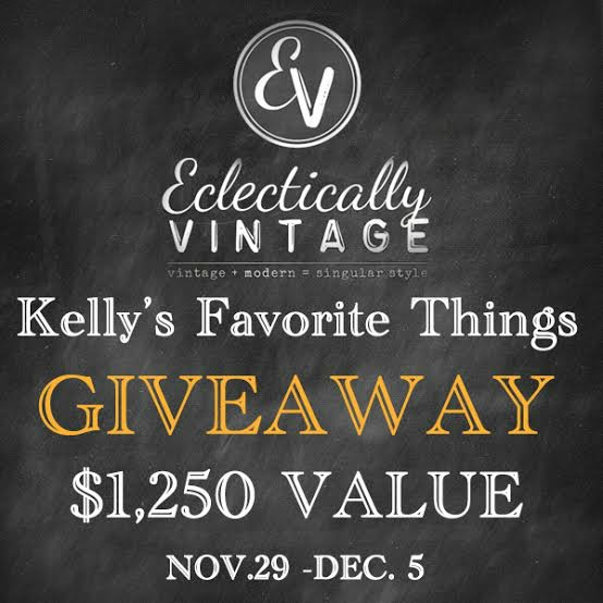Kelly's Favorite Things Giveaway - $1,250+ in prizes