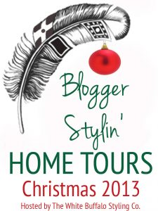 Blogger Stylin' Christmas Home Tours