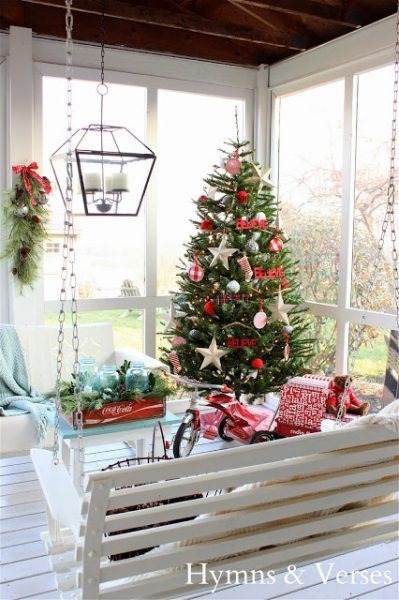 Christmas Porch & Holiday House Tour