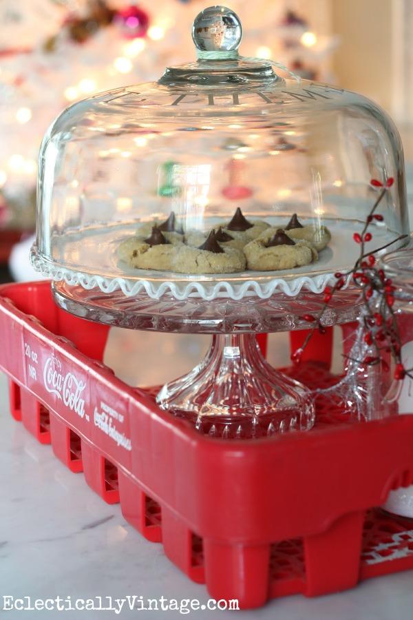 Vintage French Coke crate & kitchen tour kellyelko.com