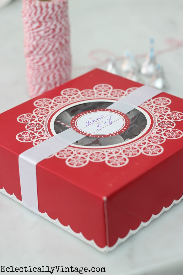 Cute Treat Packaging with Martha Stewart Cookie Boxes