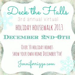 Holiday House Walk - 30 Homes Decked out for the Holidays eclecticallyvintage.com