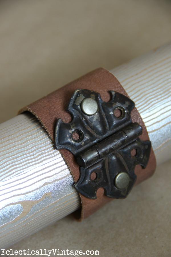 Lucy's Inspired vintage cuff bracelet kellyelko.com