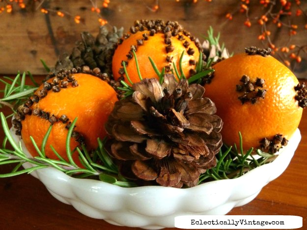 DIY orange pomanders - that last kellyelko.com