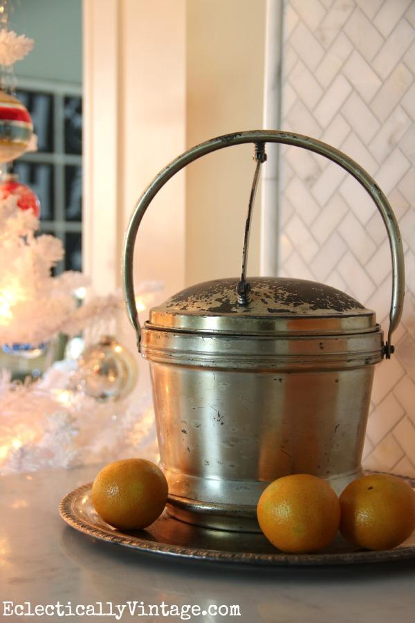 Vintage ice bucket kellyelko.com