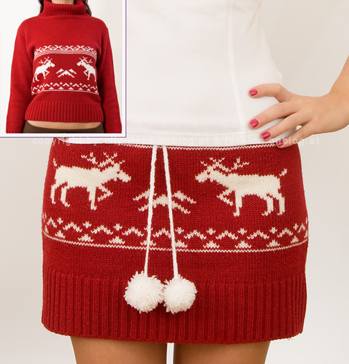 Make a skirt from an old sweater - this is adorable!