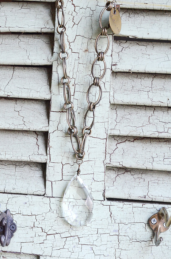Lucy's Inspired vintage jewelry - one of a kind pieces!  kellyelko.com