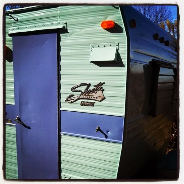 Vintage Shasta Camper - The Crafty Camper