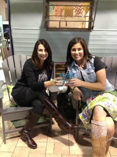 Eclectically Vintage & The Painted Home at The Crafty Camper