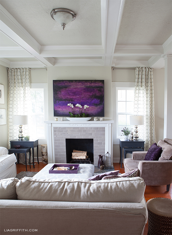 Cheery Family Room