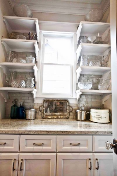 Butlers pantry - perfect for displaying your favorite pieces
